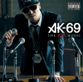 AK-69 - THE RED MAGIC (CD) Cover