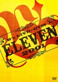 B'z LIVE-GYM 2001 -ELEVEN- (2DVD) Cover