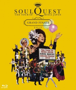 Cover del bluray 'THE TOUR OF MISIA JAPAN SOUL QUEST -GRAND FINALE 2012 IN YOKOHAMA ARENA- ()' di MISIA